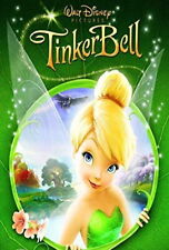 TINKERBELL TINKER BELL DVD WITH VERY RARE HOLOGRAM COVER WALT DISNEY R4