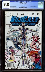WildC.A.T.S. #2...CGC 9.8 NM/M...First Wetworks...Newsstand Copy...Jim Lee
