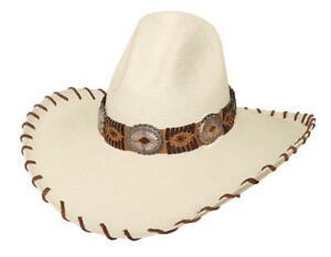 NEW Bullhide Hats 2499 Sierra Vista 20X 7 3/8 Natural Cowboy Hat