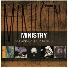 Original Album Series [Slipcase] by Ministry (CD, Oct-2011, 5 Discs, Rhino (Label))