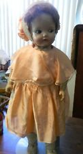 Antique Original Ideal Flossie Flirt Composition And Cloth Doll