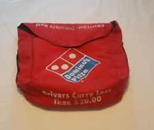 Vintage 90s Domino's Pizza Delivery Bag