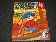 """CORRIERE DEI PICCOLI N.15/16 1988 + REGALO MAXI POSTER """"SUPER GIOCHI"""" - OTTIMO"""