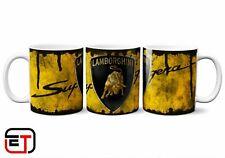 Lamborghini Distressed Look Mug And Coaster Gift Set / Superleggera