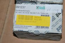 VAILLANT 091237 09-1237 ZÜNDTRANSFORMATOR VC 10 E VC VCW 182 242 T TRANSFORMATOR