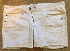 Mudd White Denim Shorts Sz 9