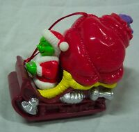 Dr. Seuss THE GRINCH WHO STOLE CHRISTMAS ON SLEIGH CHRISTMAS TREE ORNAMENT