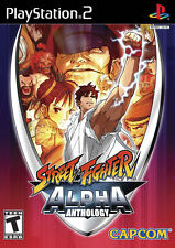 PS2 Street Fighter Alpha Anthology New Sony Playstation 2 Game