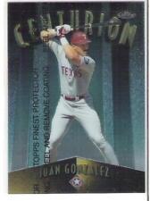 1998 FINEST JUAN GONZALEZ CENTURION #rd 500