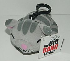 "The Big Bang Theory Soft Kitty Mini 4"" Plush Backpack Clip Keychain Toy NEW"