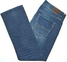 33x30 Express 'Rocco' Slim Fit Straight Leg Blue Jeans 100% Cotton Men's Denim