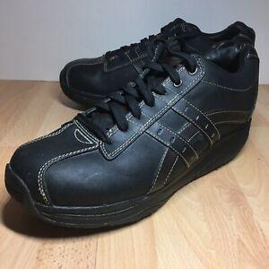 Skechers Sport Shape-Ups Men's Size 12 Xt-Overhaul Oxford Black 66504