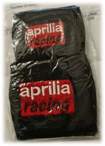 APRILIA RSV4  RSV1000R MILLE TUONO R RESERVOIR COVERS WRISTBANDS SOCKS BLACK