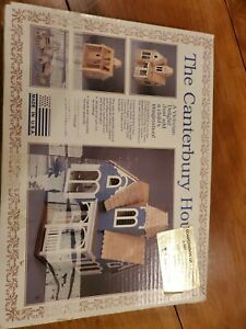 The Canterbury House, GG Products Doll House Kit 1/12th Scale w/ Furniture