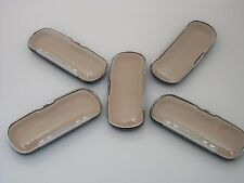 Eyeglass Case HARD CLAM SHELL Clear case SET of 3 NWOT FREE SHIPPING!