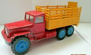 Corgi Toys No..1121 CHIPPERFIELDS International 6X6 Truck WITH NEW ANIMAL CAGE,