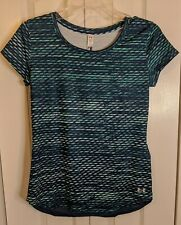 NWT  Under Armour Women's UA Fly-By 2.0 Printed T-Shirt  Size X-Small #1271520