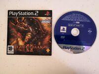 God Of War II 2 Demo Jeu Game Sony PlayStation 2 Ps2 PS 2 Pal