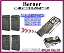 BERNER SKX1MD, SKX2MD, SKX3MD, SKX4MD Kompatibel Handsender, Ersatz 433,92MHz