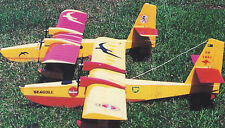Albatross Twin Electric Sport Seaplane Plans, Templates and Instructions 63ws
