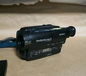 Sony Handycam CCD-TR580E Camcorder  Video 8 system  8mm Video Camera Recorder
