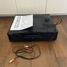 Kenwood DP-R4060 Multiple Compact 5 Disc Player Cables And Manual