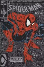 Spider-Man#1 Nm 1990 Todd Mcfarlane (Silver Variant) Marvel Comics Torment
