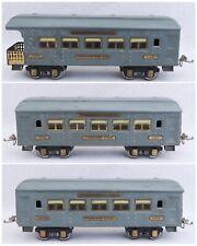 3 Ives Gray Greyhound Pullman Passenger Trains 141 142 Parlor Observation Cars