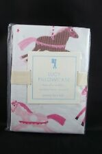 Pottery Barn Kids Lucy Horse Cases Pillowcases Standard Pink #24