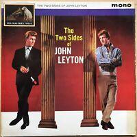 JOHN LEYTON TWO SIDES OF 1ST ISSUE 1961 UK HMV MONO VINYL LP CLP 1497