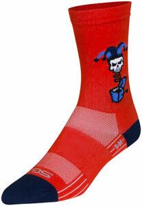 SockGuy SGX Boing Socks   6 inch   Red   L/XL