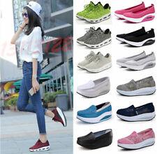 Женские туфли на платформе на шнуровке Shape Ups тонировка фитнес прогулки спорт кроссовки
