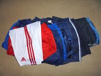 vintage 9x Nylon Shorts adidas erima ferry oldschool sport hose glanz 80`s S-XL