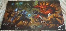 Blizzcon 2017 Diablo III 3 Signed Mini Poster
