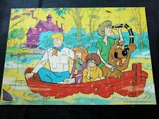 Vintage Scooby Doo jigsaw 1973, Hanna Barbera