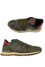 Valentino Schuhe Gr. 42 Leder Herren MADE IN ITALY Grün LY2S0723FCU-192 ANGEBOT