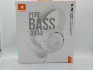 New JBL TUNE 500 On-Ear PURE BASS Headphones