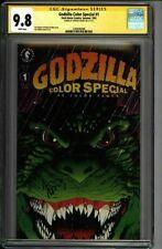 * GODZILLA Color Special #1 CGC 9.8 SS Adams (1580646008) *
