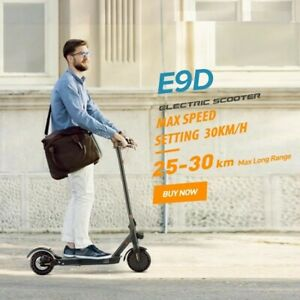 E-Scooter, 350W Motor, Foldable, Black, Adult