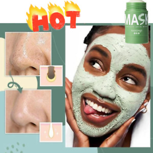 Magic Deep Cleansing Solid Green Tea Mud Mask Stick Remove Grease & Blackheads~~