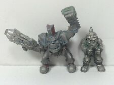 Warhammer 40k Rogue Trader  Metal Space Ork Warbike Nob and Grot Driver Lot