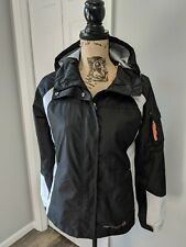 Women's Free Country Windbreaker Jacket Size Small Black White