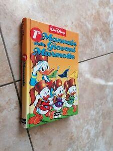 1° Manuale Delle Giovani Marmotte  Walt Disney