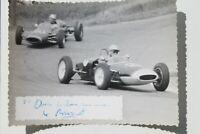 34282 Photo DDR Auto Course Autographe Paul Deetens Be De Holger Normann Se 1962