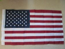 "American Flag Sewn & Embroidered House Flag Stars & Stripes 28"" x 50"" - New"