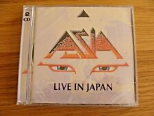 CD Double: Asia : Live In Japan : 2 CDs Sealed