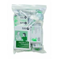St John Ambulance Workplace First Aid Kit Refill Pack, BS-8599-1 compliant