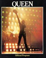 QUEEN 1980 THE GAME U.S TOUR CONCERT PROGRAM BOOK BOOKLET-FREDDIE MERCURY-NM/MT