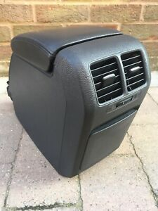 Genuine VW Golf Mk5 Leather Armrest Centre Console Rear Air Vents Cupholder