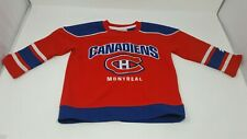 NHL Montreal Canadiens Hockey Jersey Child Size 3T Pre-owned Boys, Girls, Unisex